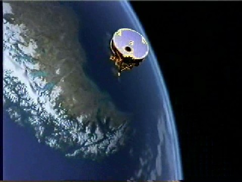 ACE Satellite in Orbit (Illustration)
